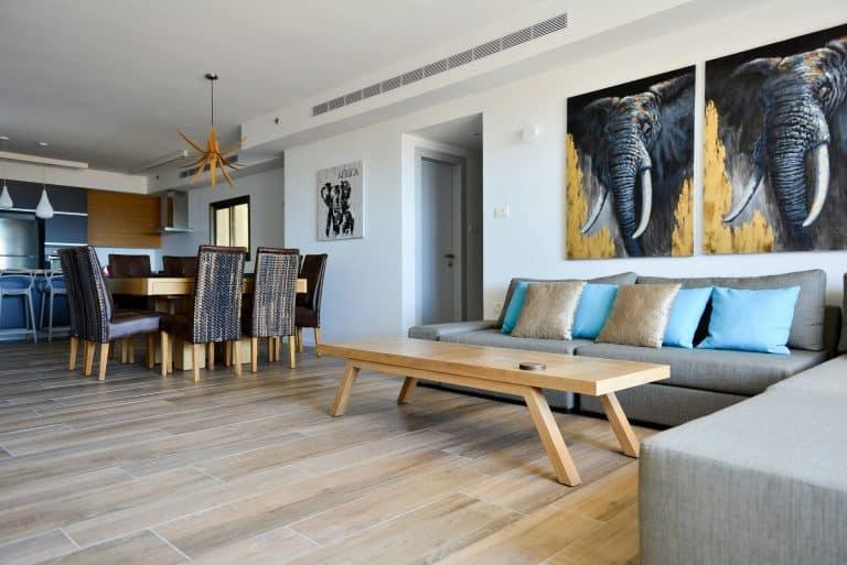 עיצוב דירה - משפחת לוין