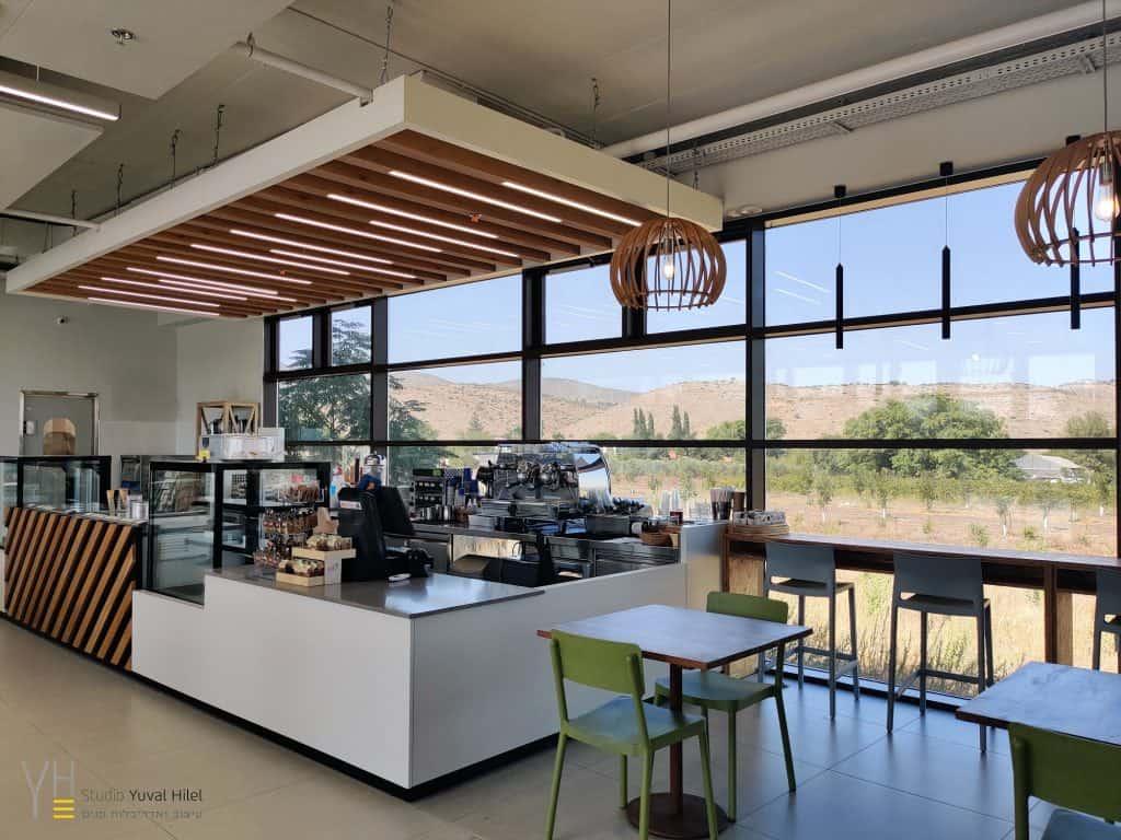 עיצוב בית קפה - Buy The Way. Drive