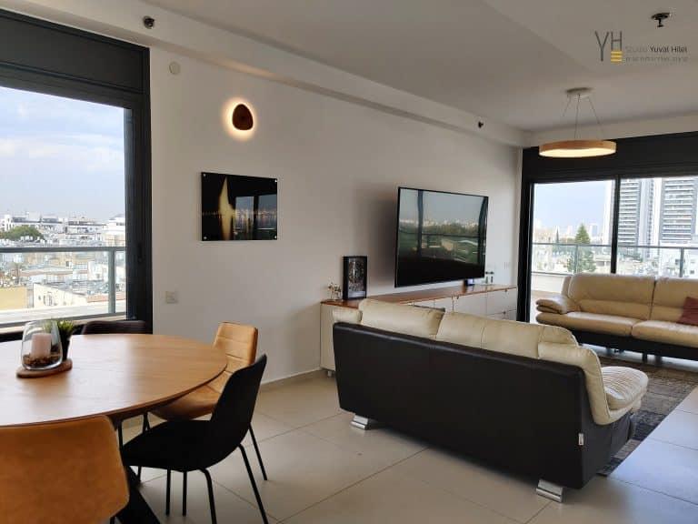 עיצוב דירת קבלן- מש' אברני