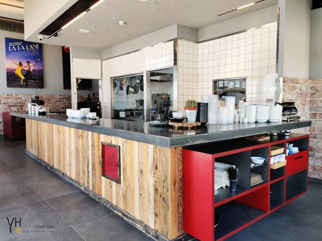 עיצוב מסעדה- חומוס 90