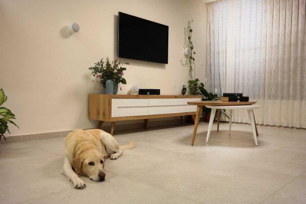 עיצוב דירת 4 חדרים בחולון - משפחת שניצר