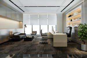 luxury working room executive office